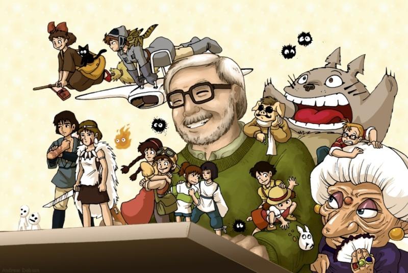 Images des dessins animés du Studio Ghibli Home-m10