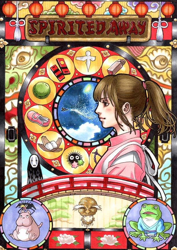 Images des dessins animés du Studio Ghibli Studio14