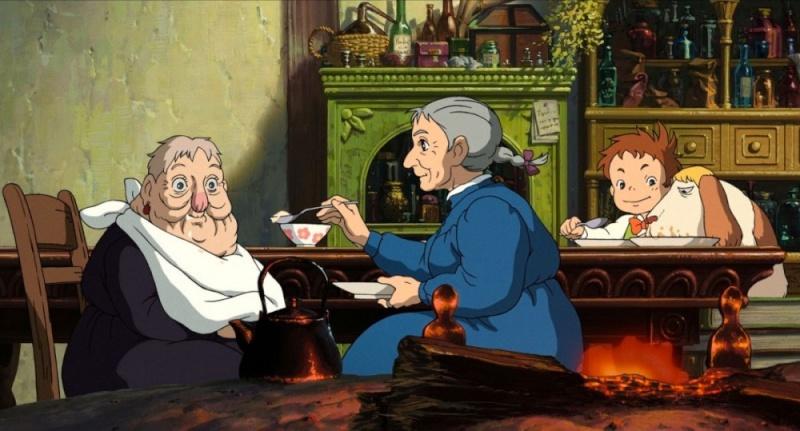 Images des dessins animés du Studio Ghibli Vieill10