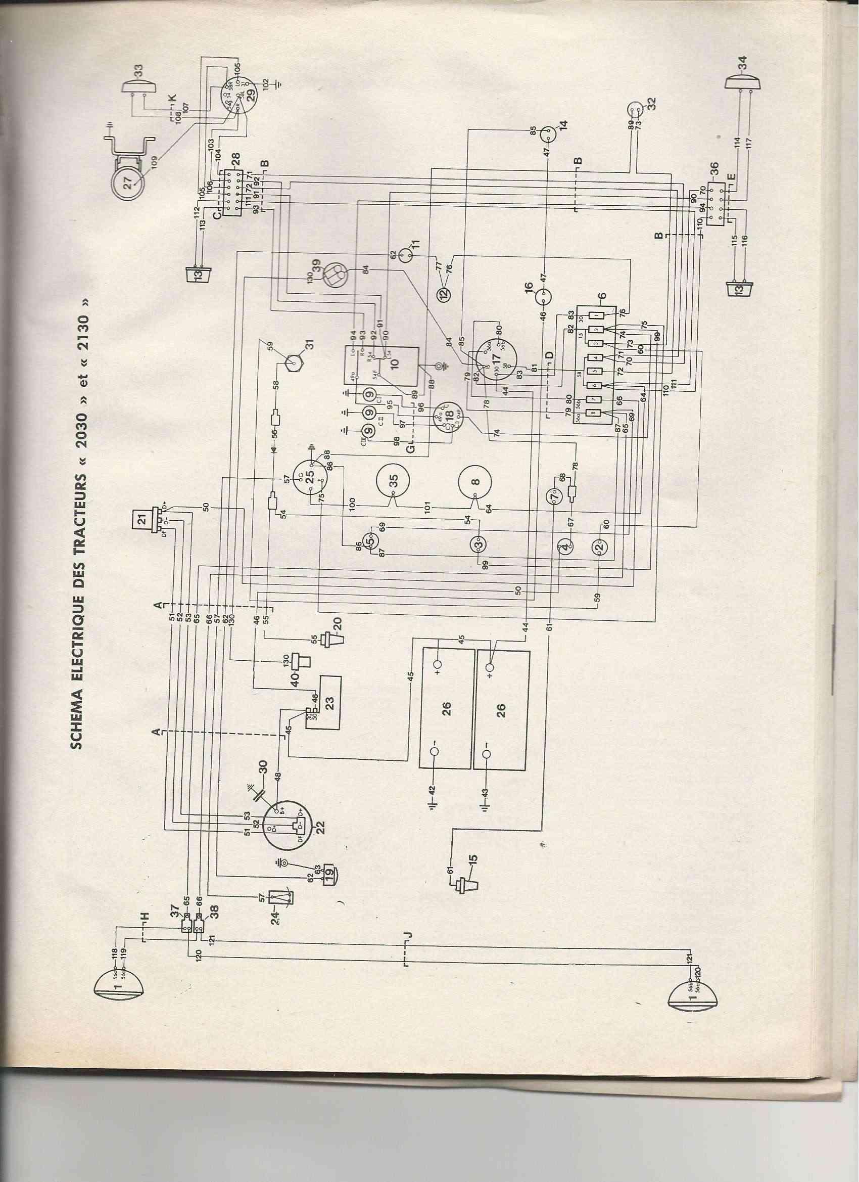 je cherche le schema electrique du 2030 Cma210