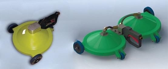 Кавитационная система для очистки подводных поверхностей  315