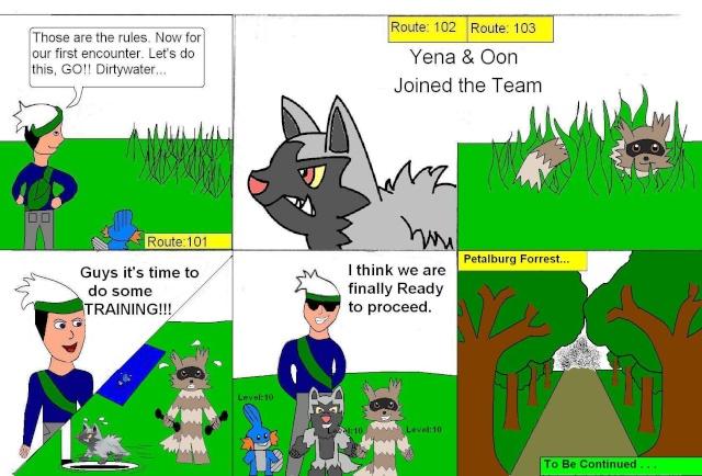 Julbos's Nuzlocke Emerald challenge comic (attempt)   Emeral12