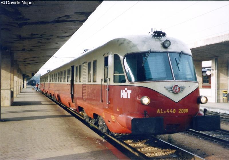 043 - Novembre 2013 - TEE in partenza da Messina Centrale Aln_4410