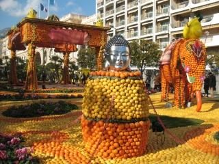 Alpes maritimes (06) Menton Carnaval des citrons 50610