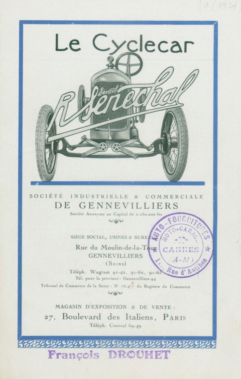 Senechal cyclecar - Page 4 0115