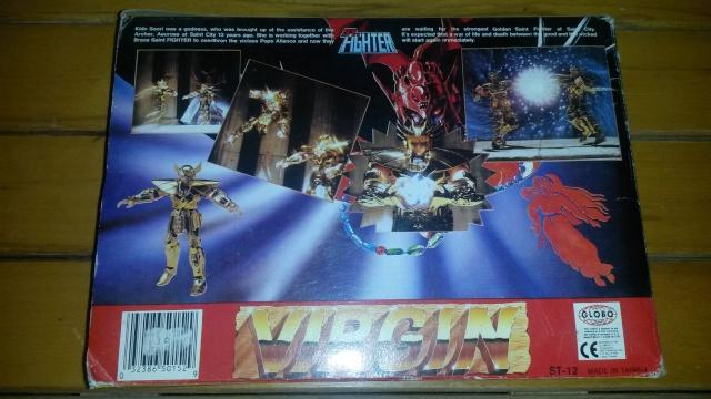 Cavalieri dello zodiaco Virgo Fake St Fighter con scatola 20131114