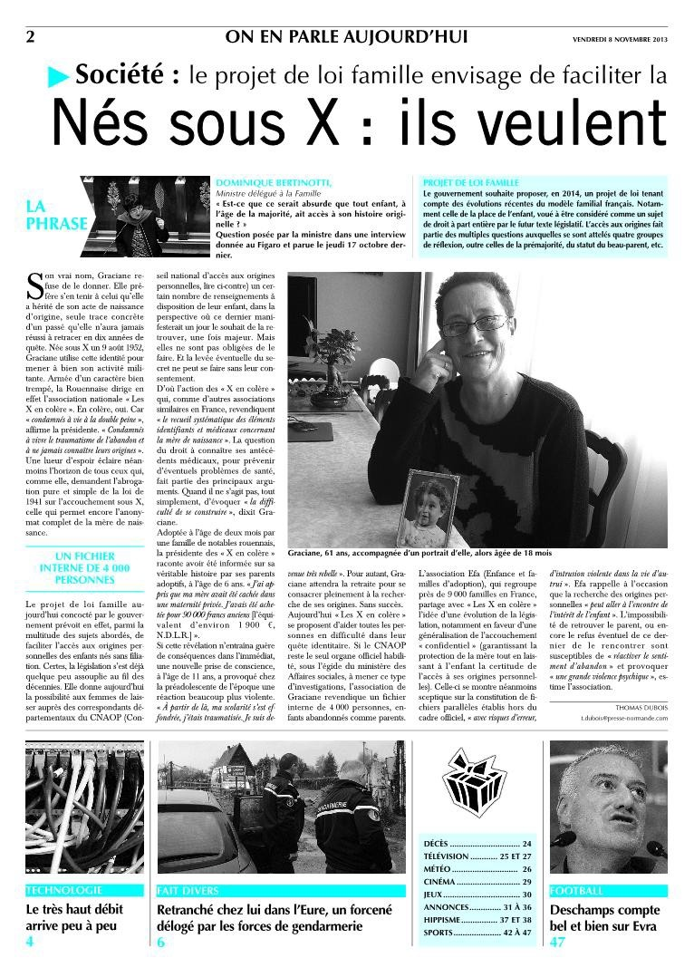 A lire Article du journal Paris normandie Pnq_2012
