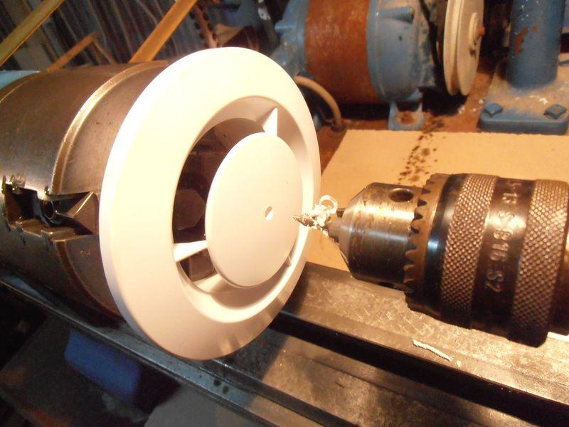 Bouche VMC réglable homemade Pb300115