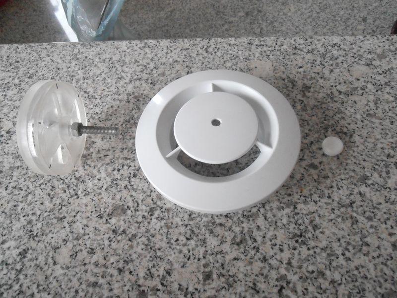 Bouche VMC réglable homemade Pb300122