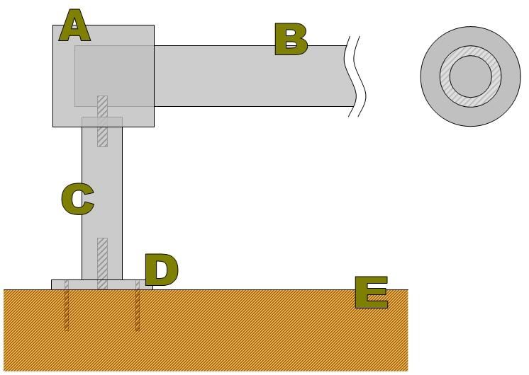 Carottage au tour: Patère de poignée [Fabrication] Soluti10