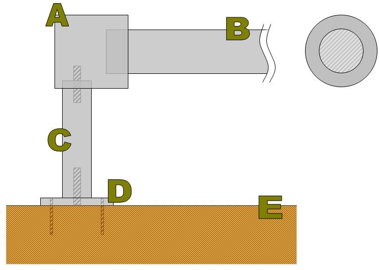 Carottage au tour: Patère de poignée [Fabrication] Soluti11