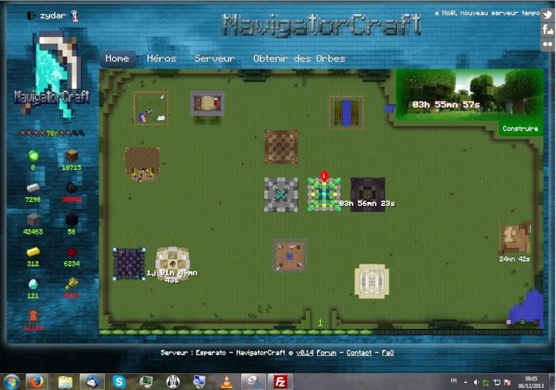Impossible d'aller sur NavigatorCraft Nc10