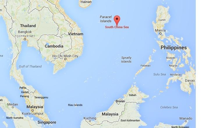 A la recherche du Boeing 777 de Malaysia Airlines disparu Carte_12