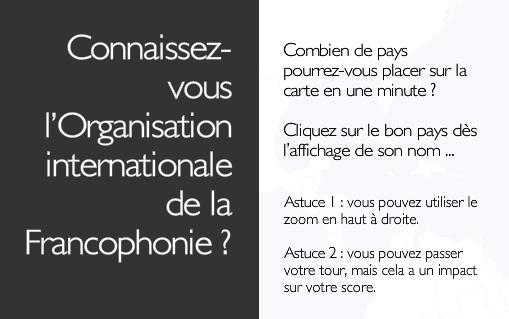Lieux Mythiques de la Francophonie 77 à 107 (Janvier 2014 - Janvier 2015) - Page 17 Franco10