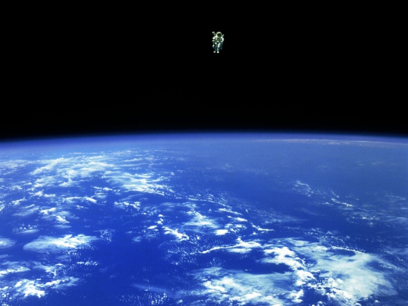 Les lumières de la péninsule ibérique vue depuis la Station spatiale internationale. Nasa_e10