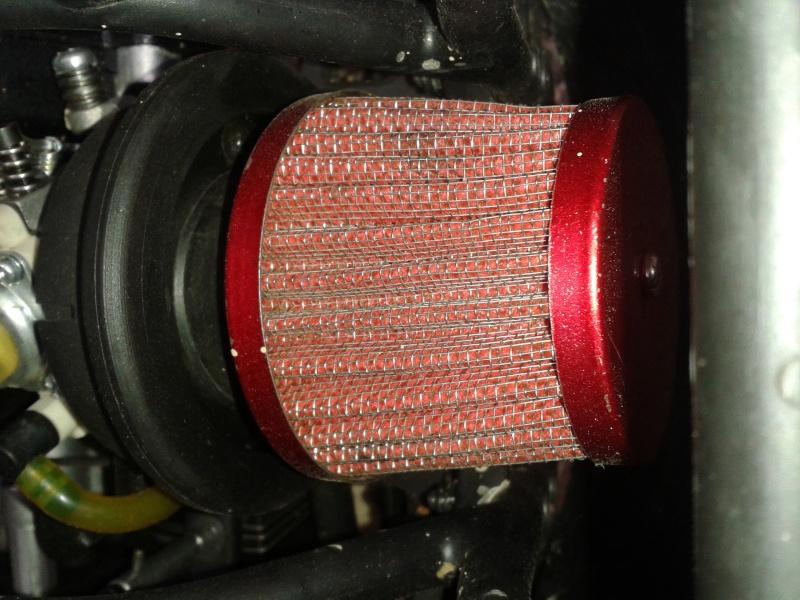 Présentation filtre à air tuning. 20131213