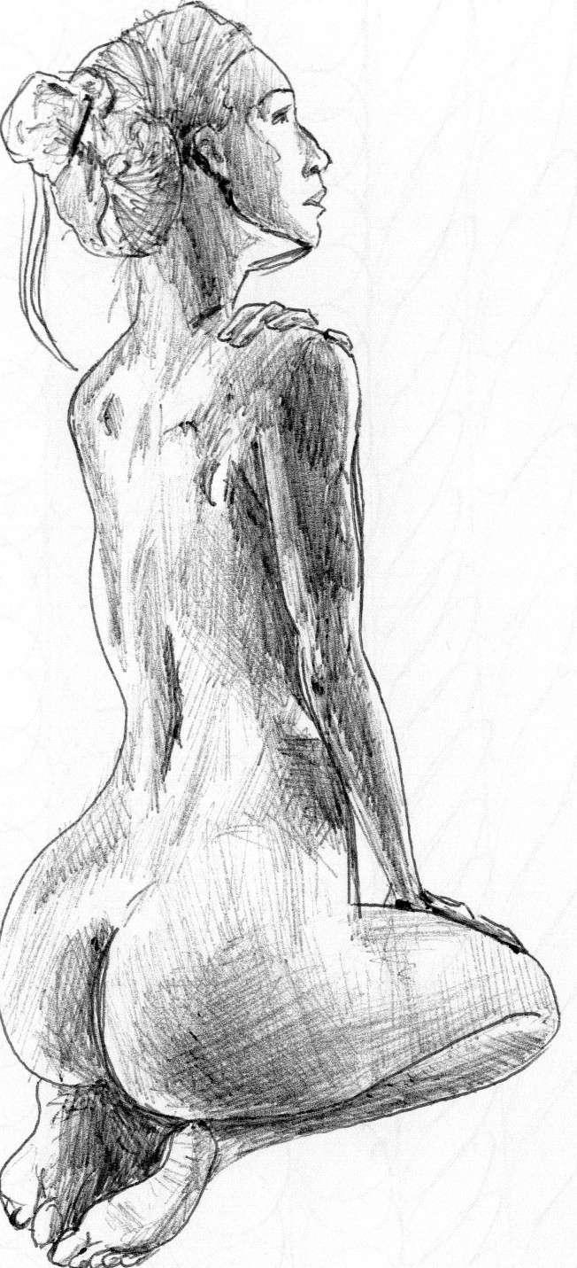 Lionker étudie [Nudité] Etudes10