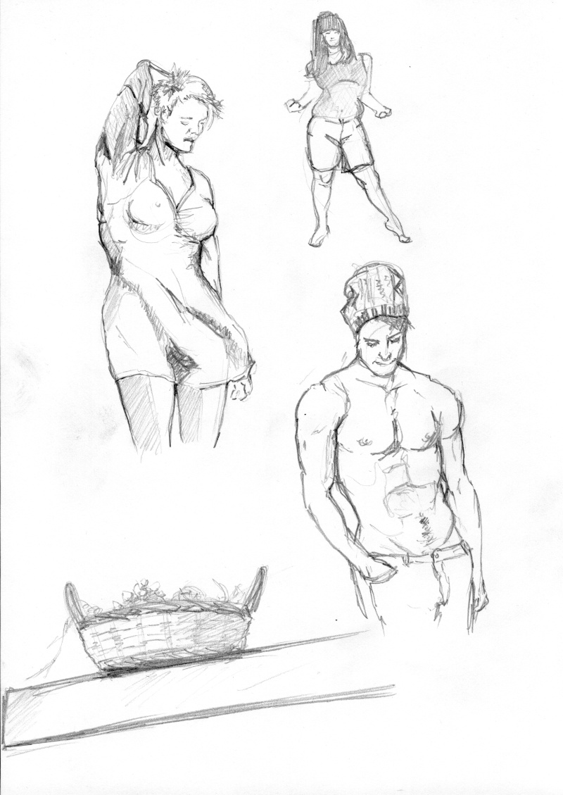 Lionker étudie [Nudité] Etudes14