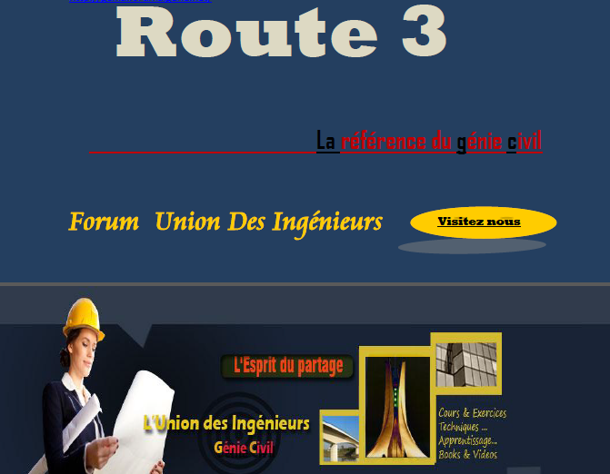 Les Cours de Route 3 (Master 2 Travaux Public ,VOA . . .) Captur10