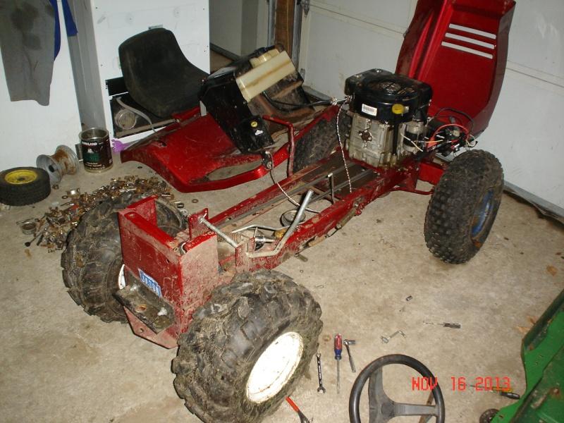 1997 Murray widebody trail mower Projec22