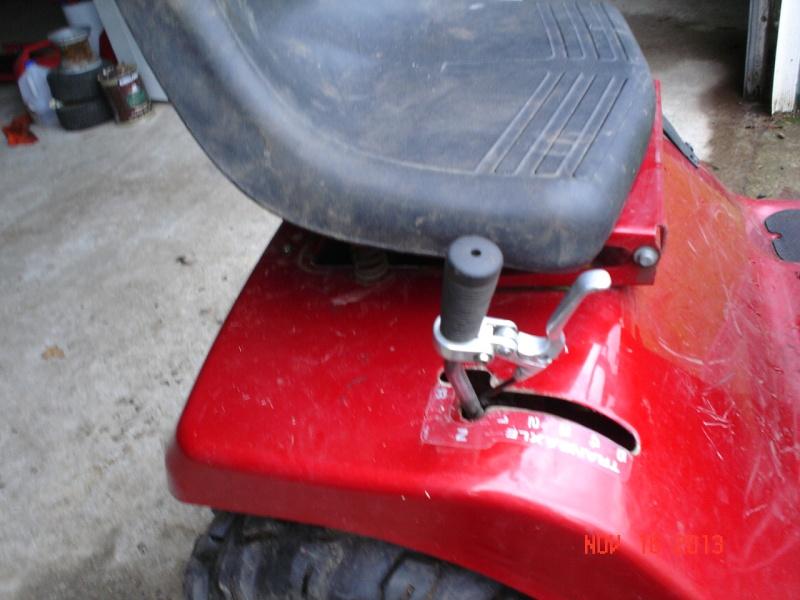 1997 Murray widebody trail mower Projec28