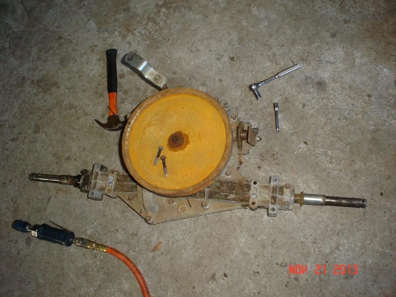 1997 Murray widebody trail mower Projec30