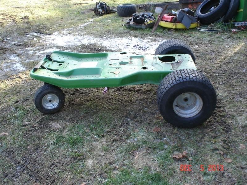 JD SX75 go-cart thingy Projec32