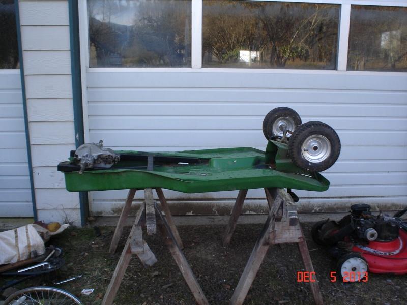 JD SX75 go-cart thingy Projec33