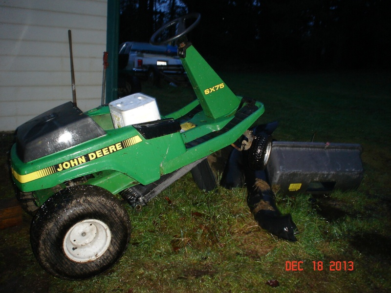JD SX75 go-cart thingy Projec61