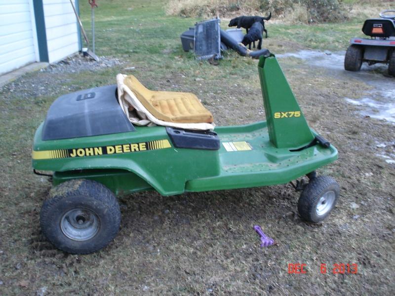 JD SX75 go-cart thingy Projec84