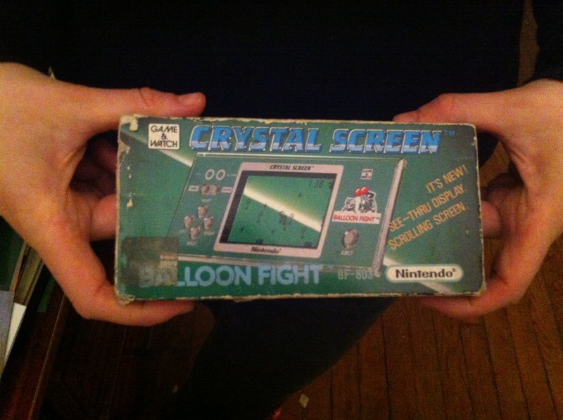 [ESTIM] NINTENDO Crystal screen - ballon fight Img_0311