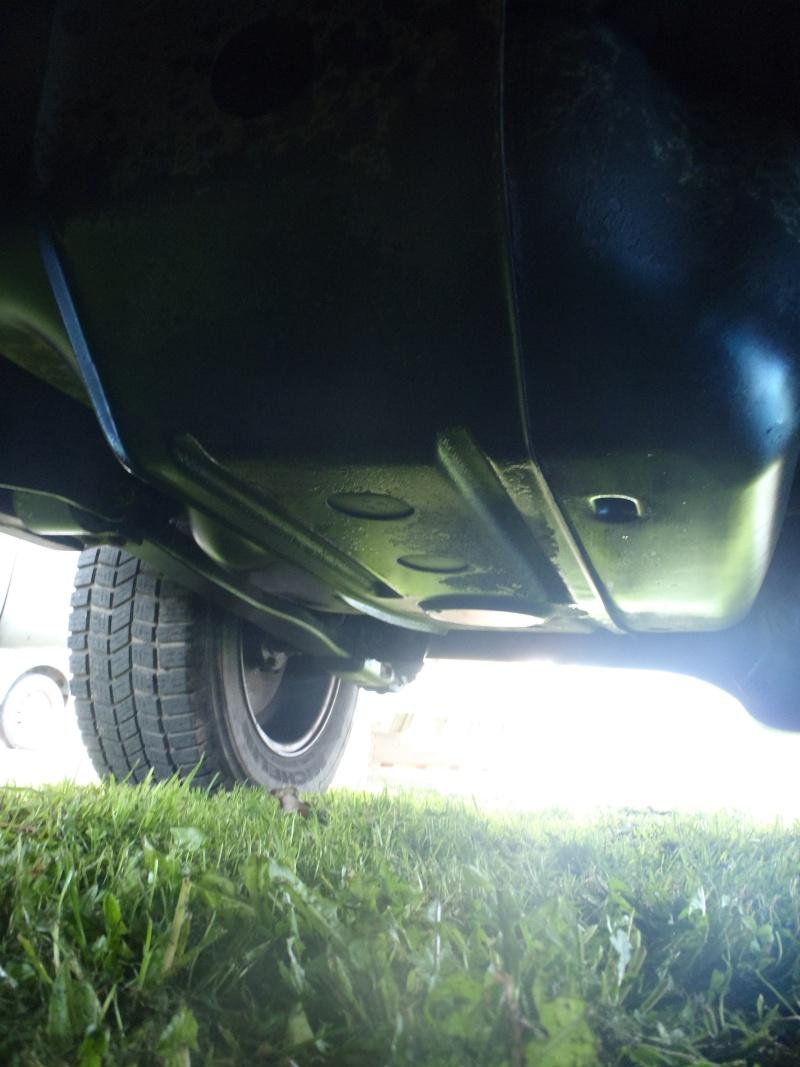 Problème fuite huile moteur? boite de pont? P3300413