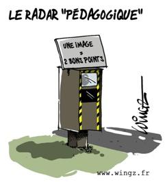 Radars: Les excès de vitesse ne sont pas condamnables. Nouvel10