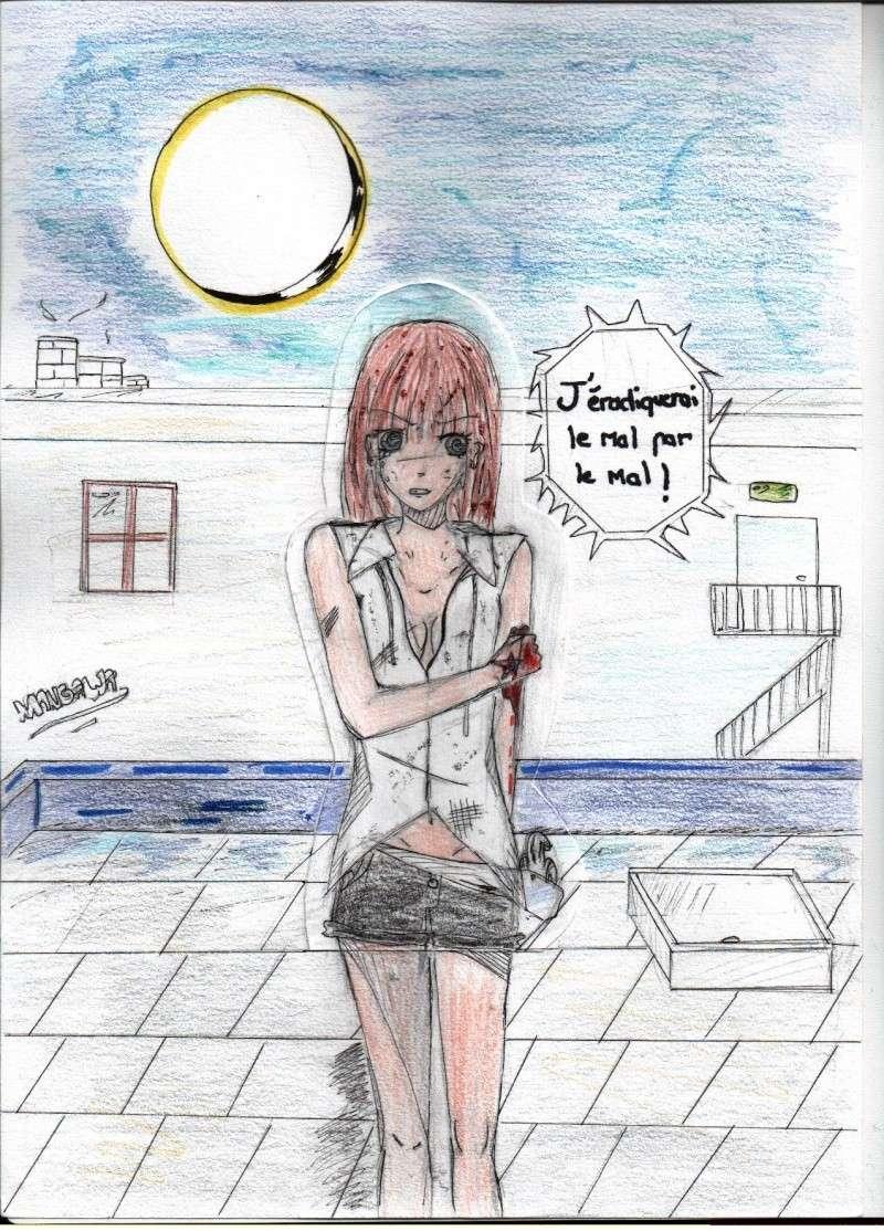 Quelques dessin que j'ai fais ( je n'ai pas copié et normalement j'en ai plus mais je les ai perdu ) Daphne10