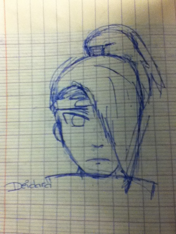 Quelques dessin que j'ai fais ( je n'ai pas copié et normalement j'en ai plus mais je les ai perdu ) Img_0613
