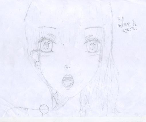 Quelques dessin que j'ai fais ( je n'ai pas copié et normalement j'en ai plus mais je les ai perdu ) Numeaa11