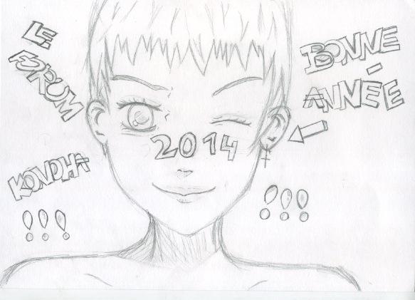 Quelques dessin que j'ai fais ( je n'ai pas copié et normalement j'en ai plus mais je les ai perdu ) Numeir10