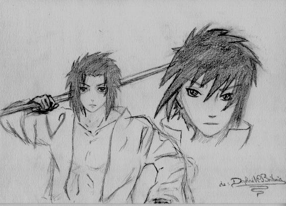 Quelques dessin que j'ai fais ( je n'ai pas copié et normalement j'en ai plus mais je les ai perdu ) Numeir13
