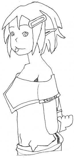 Mes pitis dessin[à critiquer] Cra10