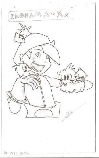 Mes pitis dessin[à critiquer] Osa10