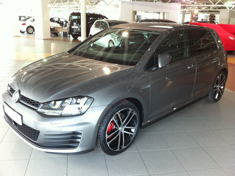 Golf 7 GTD Gris Limestone Photo11