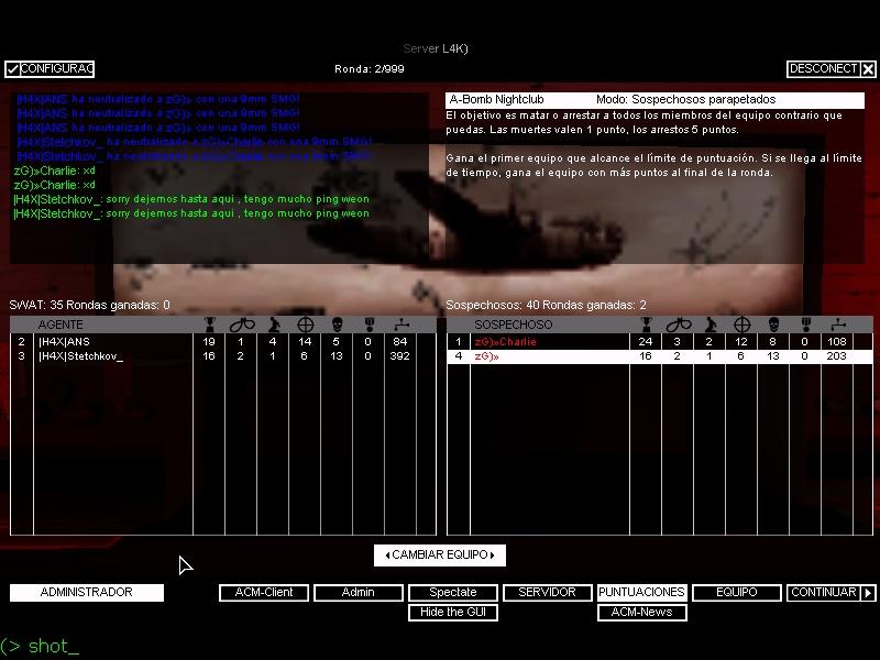 zG)» VS |H4X| Shot0020