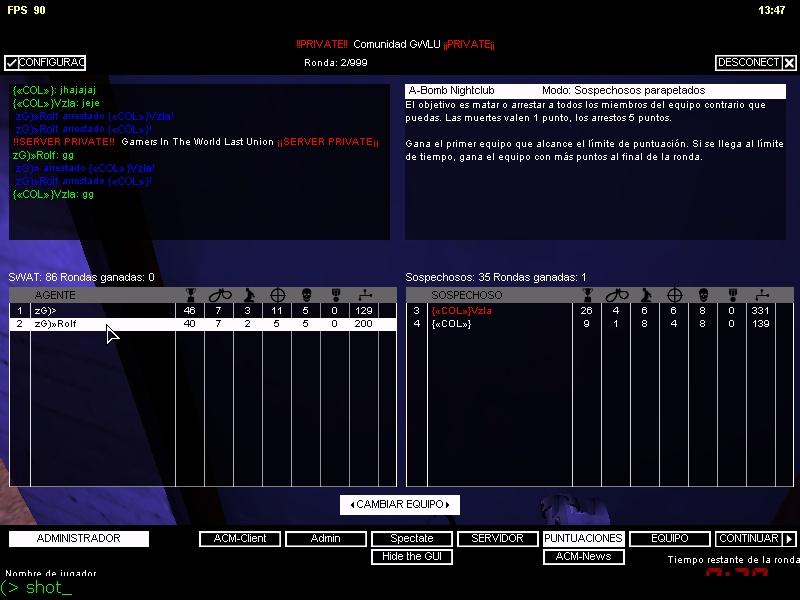 zG)» vs «{COL}» Zg_vs_16