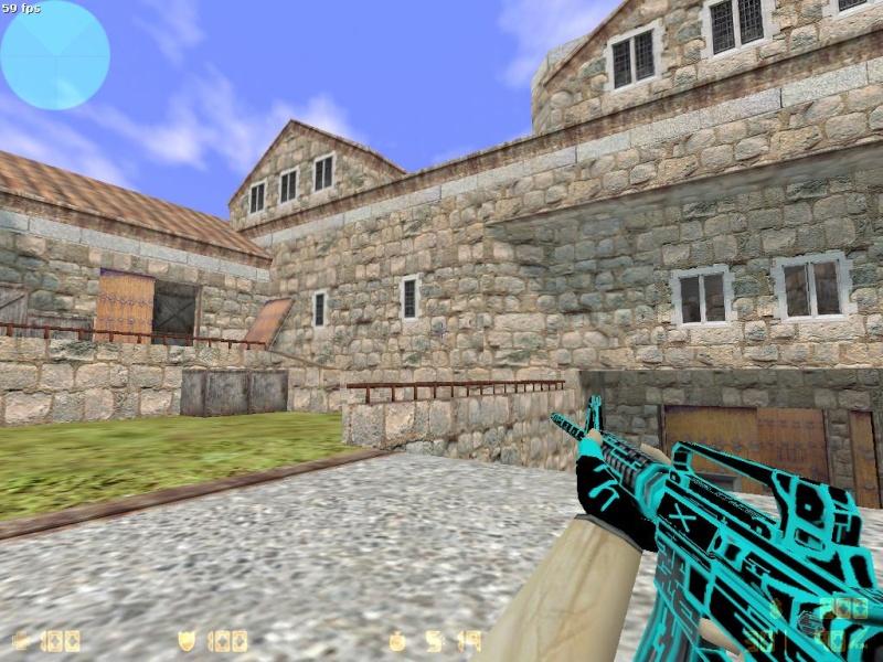 Models AK-47, COLT, DK [Neon Electro] 110
