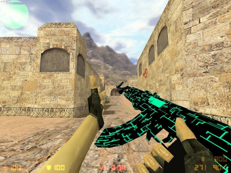 Models AK-47, COLT, DK [Neon Electro] 310