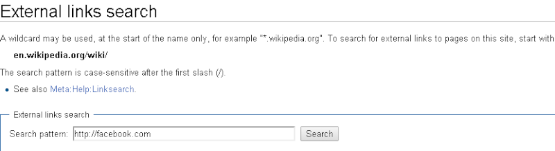 How to Search Your Website Link in Wikipedia 210