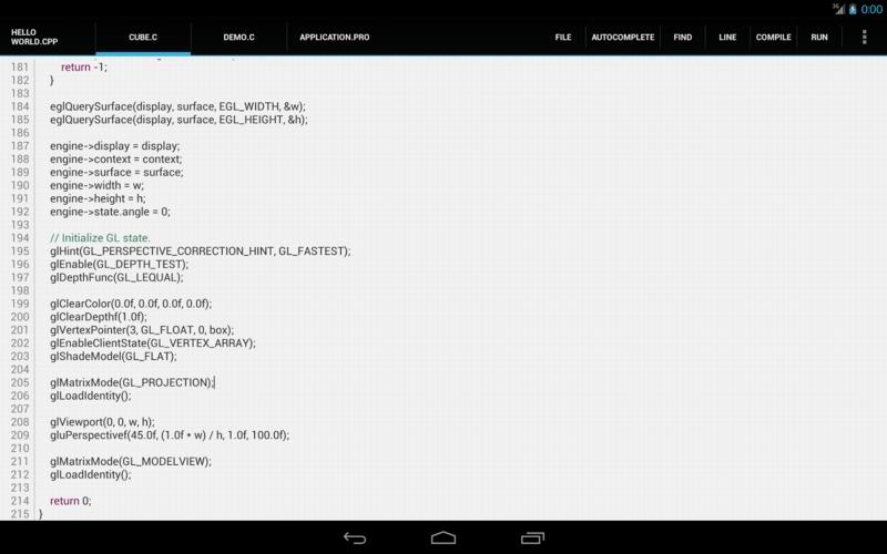C4droid (C/C++ compiler & IDE) v4.11 H6ydfm10
