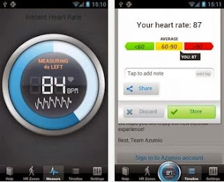 How to Measure Heart Rate Using Android Camera Measur10
