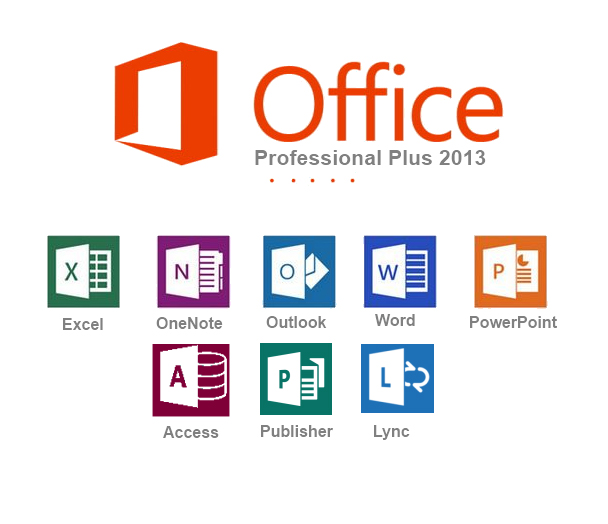 MS Office Professional Plus 2013 with activator Office10