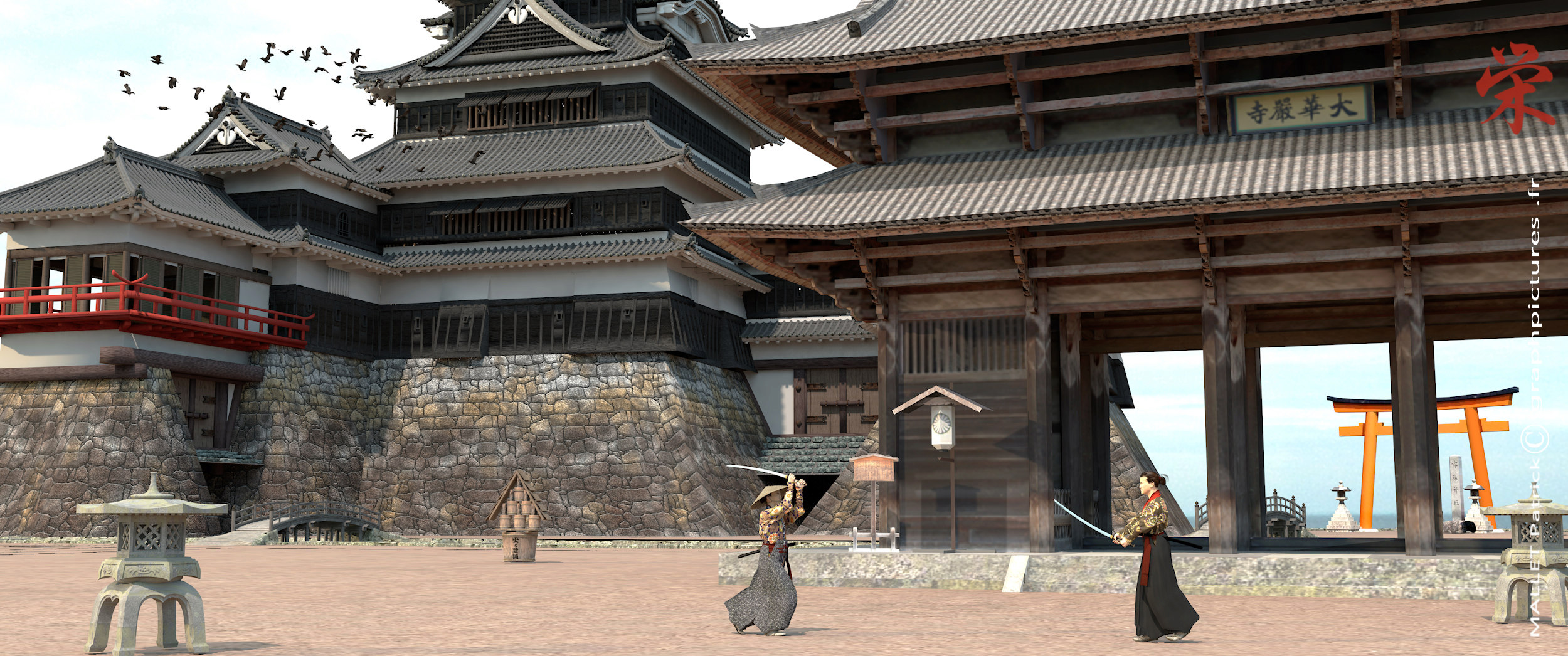 ma vision du  japon - Page 2 Temple10